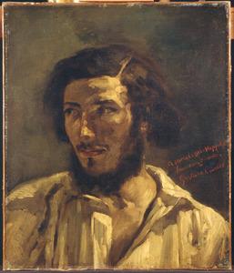 Portret van Hippolyte, mogelijk de schilder Hippolyte Pradelles (1824-1913)