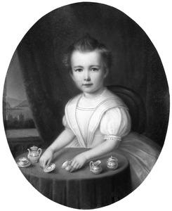 Portret van Hermance Aleida Barones du Tour van Bellinchave (1863-1956)