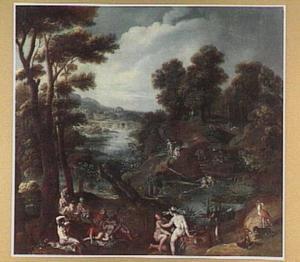 Landschap met Diana en Callisto