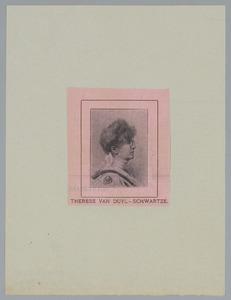 Portret van Therese van Duyl-Schwartze