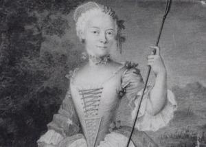 Portret van Anna Petronella van Heemskerck