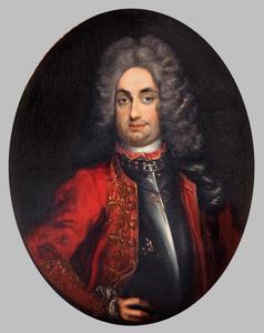 Portret van Frantisek Karel II. Liebstein van Kolowrat