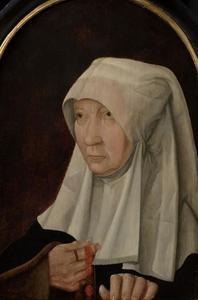 Portret van Jacomina Claesdr. van Ruyven, gezegd Tetrode (?-1509)