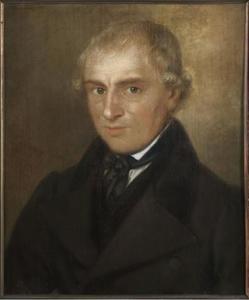 Portret van Auke Alberts Aukes ( -1865)