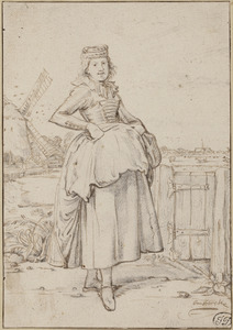 Boerenmeisje uit Alkmaar
