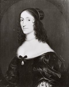 Portret van Louise Christine zu Solms -Braunfels (1606-1669)