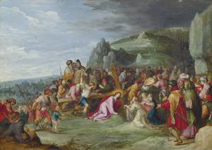 De kruisdraging met de ontmoeting met de H. Veronica