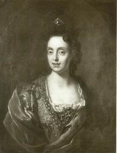 Portret van Anna Maria Luisa de'Medici, keurvorstin van de Palts