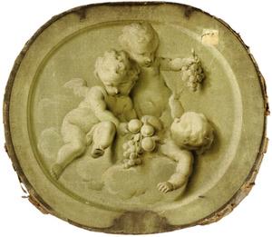 Allegorische voorstelling van de wijnoogst