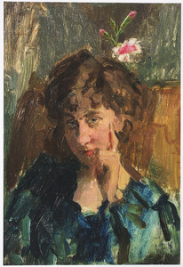 Portret van de schrijfster Jo de Wit (1894-1973)