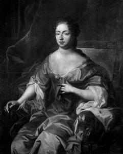 Portret van Maria Amalia van Kurland (1653-1711)