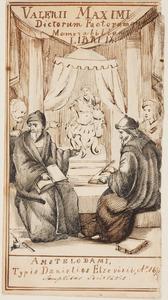 Titel blad van book 9 van Dictorum factorumque memorabilium libri IX. Amsterdam, Daniel Elzevier, 1671
