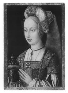Maria Magdalena met zalfpot