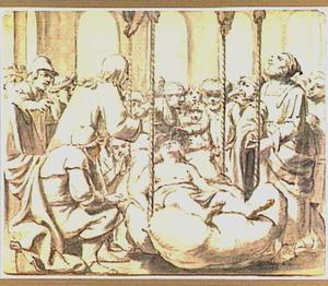 De genezing van een lamme te Kapernaüm (Marcus 2:1-12)