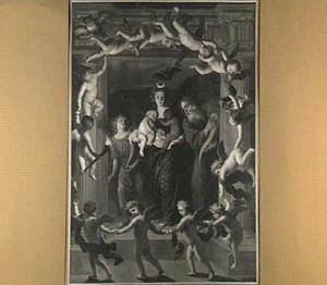 De godin Diana: allegorie van de nacht