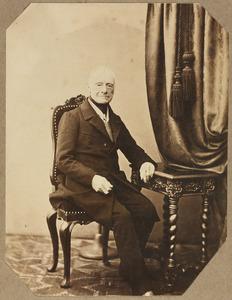 Portret van Jacques Adriaan Christiaan van Nagell (1784-1883)