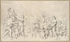 Offerande aan Priapus (allegorie van de Lente)
