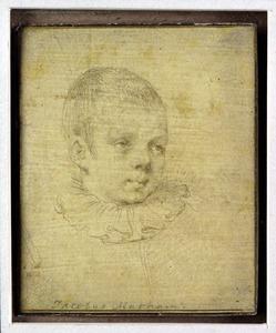 Portret van een jongen, mogelijk Frederick de Vries (?-?)