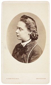 Portret van Maria Johanna Westendorp (1855-...)