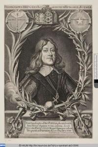 Portret van koning Ferdinand IV (1633-1654)