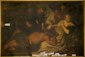 Samson en Delila (naar Van Dyck)
