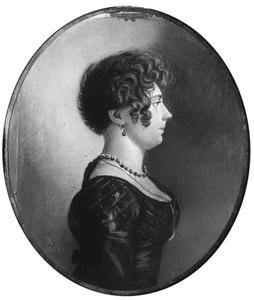 Portret van Hillegonda Wijndels (1800-1854)