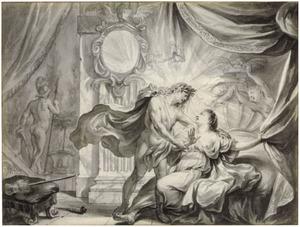 Apollo verleidt Leucothoe (Metamorfosen)