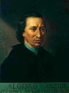 Portret van Luigi Lanzi