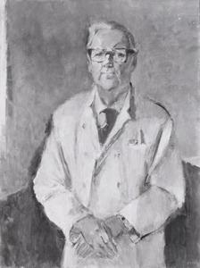 Portret van Willem Storm van Leeuwen (1912- )