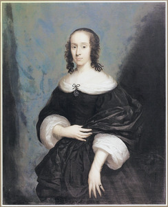 Portret van Catherine Bridges, countess of Bedford (?-?)