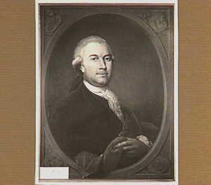 Portret van Johan van Melvill (1740-1788)