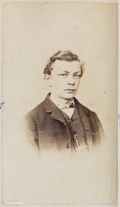 Portret van een man uit familie Dijkstra