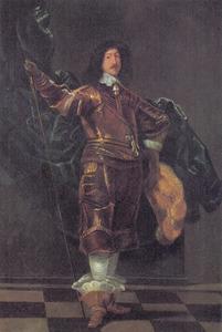 Portret van Frederik III (1609-1670), jongste zoon van Christiaan IV (1577-1648)