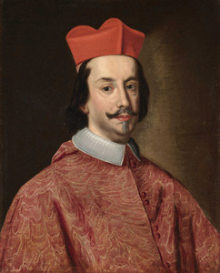 Portret van een onbekende kardinaal