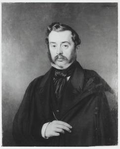 Portret van Jhr. Diederik Jan Anthonie Albertus van Lawick van Pabst (1828-1899)