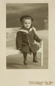 Portret van W. Barends
