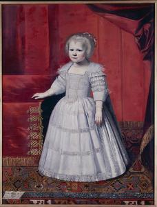 Portret van Elisabeth Friso van Nassau -Dietz (1620-1628)