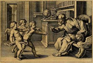 Vignette voor F. Aguilon, Opticorum Libri Sex III., Antwerpen 1613