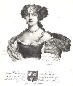 Portret van Catharina van der Goes (1654-1700)