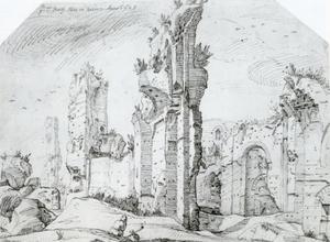 Ruïnes van de baden van Caracalla in Rome