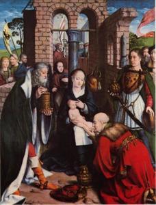 De aanbidding van de koningen (Matteüs 2:1-12)