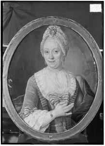 Portret van Immagonda van der Hart (1722-1781)