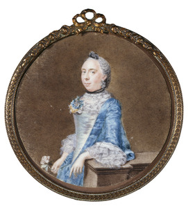 Portret van Catharina Kops (1726-1792)
