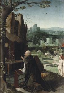 De verzoeking van de Heilige Antonius Abt