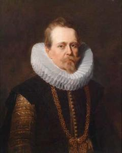 Portret van Jean-Charles de Cordes (?-1641), Seigneur de Wichelen