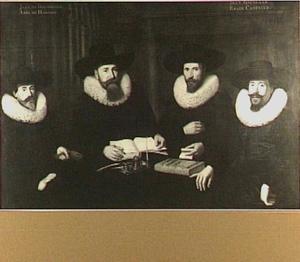 Regenten van het Walenweeshuis te Amsterdam, 1631