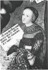 De heilige Christina