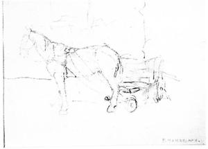 Horse and cart: study