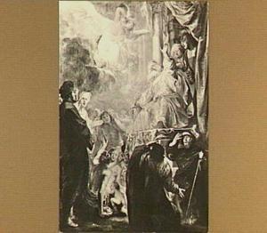 Het oordeel van Salomo: de beide moeders voor Salomo  (1 Koningen 3:16-28)