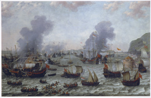 Zeeslag bij Gibraltar, 25 april 1607
